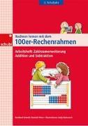 Cover-Bild zu Rechnen lernen mit dem 100er Rechenrahmen. Addition und Subtraktion. Arbeitsheft von Schmitt, Bernhard