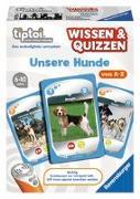 Cover-Bild zu tiptoi® Wissen & Quizzen: Unsere Hunde