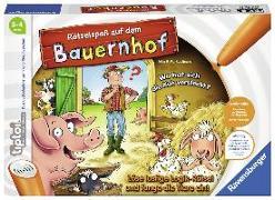 Cover-Bild zu tiptoi® Rätselspaß auf dem Bauernhof