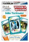 Cover-Bild zu tiptoi® Wissen & Quizzen: Süße Tierkinder