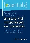 Cover-Bild zu Bewertung, Kauf und Optimierung von Unternehmen (eBook) von Graf Adelmann, Quirin