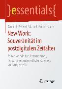 Cover-Bild zu New Work: Souveränität im postdigitalen Zeitalter (eBook) von Berend, Benjamin