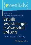 Cover-Bild zu Virtuelle Veranstaltungen in Wissenschaft und Lehre (eBook) von Hey, Barbara