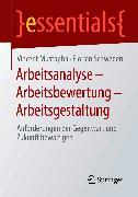 Cover-Bild zu Arbeitsanalyse - Arbeitsbewertung - Arbeitsgestaltung (eBook) von Mustapha, Vincent