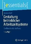 Cover-Bild zu Gestaltung betrieblicher Arbeitszeitsysteme (eBook) von Hoff, Andreas