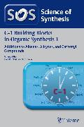 Cover-Bild zu Science of Synthesis: C-1 Building Blocks in Organic Synthesis Vol. 1