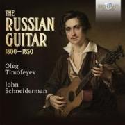 Cover-Bild zu The Russian Guitar 1800-1850