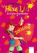 Cover-Bild zu Hexe Lilli Schülerkalender 2005/06