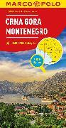 Cover-Bild zu MARCO POLO Länderkarte Montenegro 1:250 000. 1:250'000