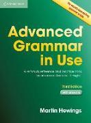 Cover-Bild zu Advanced Grammar in Use. with Answers von Hewings, Martin