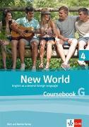 Cover-Bild zu New World 4. 8. Schuljahr. Coursebook G. Student's Pack