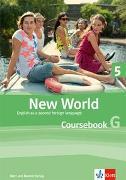 Cover-Bild zu New World 5. Coursebook G. Student's Pack