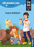 Cover-Bild zu Die drei !!!, Bücherhelden 2. Klasse, Hund entführt!