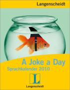Cover-Bild zu Langenscheidt Sprachkalender 2010 A Joke a Day