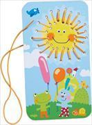Cover-Bild zu Fädelspiel Sonnenschein