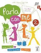 Cover-Bild zu Parla con me 2 - Kurs- und Arbeitsbuch