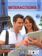 Cover-Bild zu Interactions 1. Méthode de Français. Niveau A1.1 - Livre de l'élève