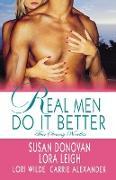 Cover-Bild zu Donovan, Susan: Real Men Do It Better