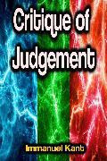 Cover-Bild zu Kant, Immanuel: Critique of Judgement (eBook)