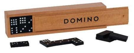 Cover-Bild zu Dominospiel im Holzkasten