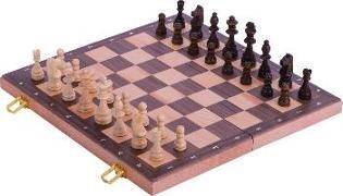 Cover-Bild zu Schachspiel in Holzklappkassette