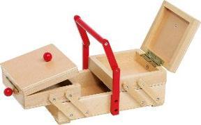 Cover-Bild zu Nähkästchen aus Holz