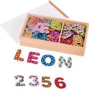 Cover-Bild zu Magnet-Alphabet und Zahlen