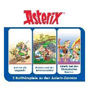 Cover-Bild zu Goscinny, René: Asterix - Hörspielbox, Vol. 4 (Audio Download)