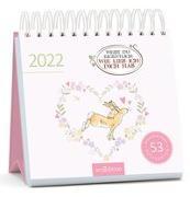 Cover-Bild zu McBratney, Sam: Postkartenkalender Weißt du eigentlich, wie lieb ich dich hab 2022