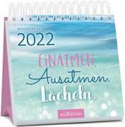 Cover-Bild zu Miniwochenkalender Einatmen. Ausatmen. Lächeln. 2022