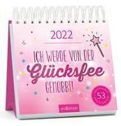 Cover-Bild zu Postkartenkalender Ich werde von der Glücksfee gemobbt! 2022