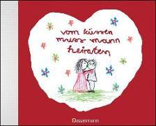 Cover-Bild zu vom küssen muss mann heiraten