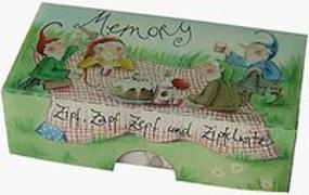 Cover-Bild zu Räss, Daniela (Illustr.): Zipf, Zapf, Zepf und Zipfelwitz - Zwergenmemo