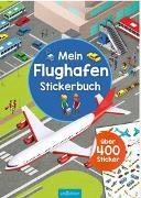 Cover-Bild zu Mein Flughafen-Stickerbuch von Schumacher, Timo (Illustr.)