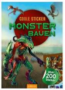 Cover-Bild zu Coole Sticker - Monster bauen von Schumacher, Timo (Illustr.)