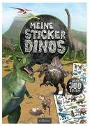 Cover-Bild zu Meine Sticker-Dinos von Schumacher, Timo (Illustr.)