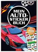 Cover-Bild zu Mein Auto-Stickerbuch von Schumacher, Timo (Illustr.)