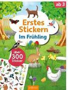 Cover-Bild zu Erstes Stickern - Im Frühling von Schumacher, Timo (Illustr.)
