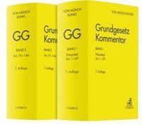 Cover-Bild zu Grundgesetz-Kommentar Gesamtwerk von Münch, Ingo von (Hrsg.)