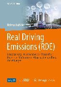 Cover-Bild zu Real Driving Emissions (RDE) (eBook) von Köhler, Dieter (Beitr.)
