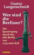 Cover-Bild zu Wer sind die Berliner? (eBook) von Langenscheidt, Gustav