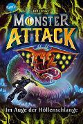 Cover-Bild zu Monster Attack (3). Im Auge der Höllenschlange von Drake, Jon