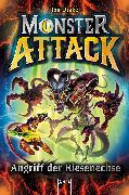 Cover-Bild zu Monster Attack (1). Angriff der Riesenechse (eBook) von Drake, Jon