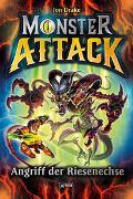 Cover-Bild zu Monster Attack (1). Angriff der Riesenechse von Drake, Jon
