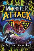 Cover-Bild zu Monster Attack (3). Im Auge der Höllenschlange (eBook) von Drake, Jon