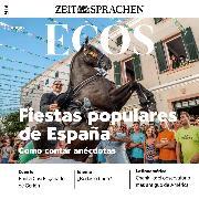 Cover-Bild zu Spanisch lernen Audio - Volksfeste in Spanien (Audio Download) von Jimenez, Covadonga