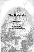Cover-Bild zu The Kalevala, Volume II von Crawford, John Martin