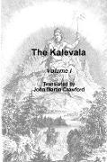 Cover-Bild zu The Kalevala. Volume I von Crawford, John Martin