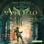 Cover-Bild zu Das brennende Labyrinth von Riordan, Rick