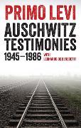 Cover-Bild zu Auschwitz Testimonies von Levi, Primo